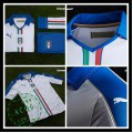 Camisas De Futebol Itália Autêntico Ii Euro 2016 Masculina