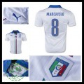 Camisas Futebol (8 Marchisio) Itália Autêntico Ii Euro 2016 Masculina