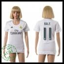 Real Madrid Camisa Futebol Bale 2015 2016 I Feminina