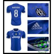 Camisa Du Futebol Juventus Marchisio 2016-2017 Ii Masculina