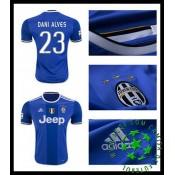 Camisa Futebol Juventus Dani Alves 2016-2017 Ii Masculina