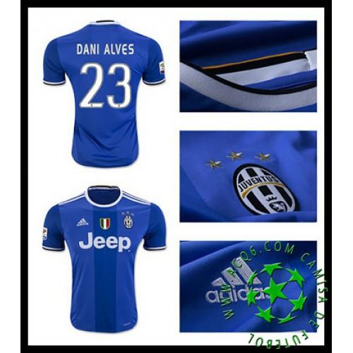 a907c27b3d Camisa Futebol Juventus Dani Alves 2016-2017 Ii Masculina ...