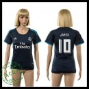 Real Madrid Camisa Futebol James 2015-2016 Iii Feminina