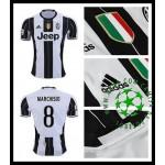 Camisas De Futebol Juventus Marchisio 2016/2017 I Masculina