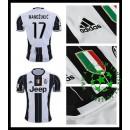 Camisas Futebol Juventus Mandzukic 2016-2017 I Masculina