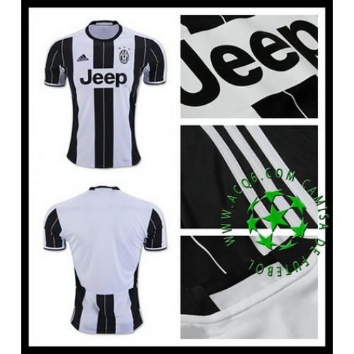 1fc786cd53 Camisa Futebol Juventus 2016 2017 I Masculina - camisolas de futebol ...