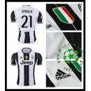 Camisa Juventus Dybala 2016-2017 I Masculina