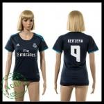 Real Madrid Camisas Benzema 2015-2016 Iii Feminina