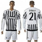 bd72f330d4 Juventus Camisas Dybala Manga Longa 2015-2016 I Masculina
