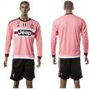 Juventus Camisetas Manga Longa 2015 2016 Ii Masculina