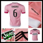 Camisas Juventus (6 Khedira) 2015 2016 Ii Masculina