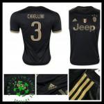 Uniforme Futebol Juventus (3 Chiellini) 2015 2016 Iii Masculina
