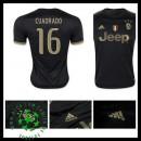 Camisas Futebol Juventus (16 Cuadrado) 2015 2016 Iii Masculina