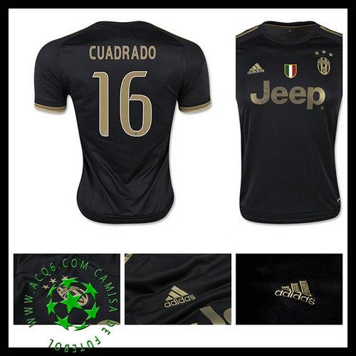 f3e9b8ed64 Camisas Futebol Juventus (16 Cuadrado) 2015 2016 Iii Masculina ...
