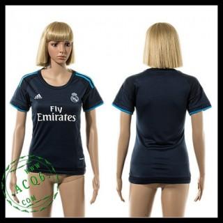 Real Madrid Camisas Du Futebol 2015-2016 Iii Feminina