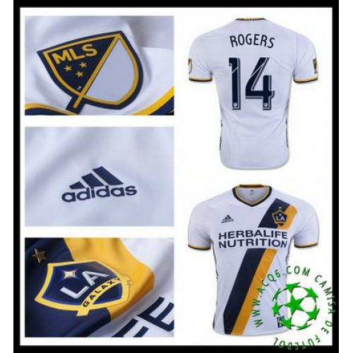 Criar Um Camisa Futebol Rogers La Galaxy Masculina 2016 2017 I Mais Barato  Online 7f6ee6ec1d1a9