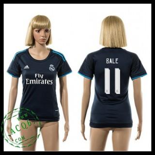 Real Madrid Camisas Futebol Bale 2015-2016 Iii Feminina