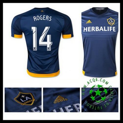 e76b717302 Camisa Futebol La Galaxy (14 Rogers) 2015 2016 Ii Masculina ...