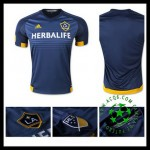 Camisa Futebol La Galaxy 2015-2016 Ii Masculina
