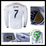 Camisas Futebol La Galaxy (7 Keane) Manga Longa 2015/2016 I Masculina