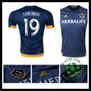 Camisas Futebol La Galaxy (19 Juninho) 2015-2016 Ii Masculina