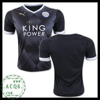 Make Her Uniformes De Futebol Leicester City Masculina 2015 2016 Ii Loja On-Line