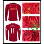 Camisas Liverpool Firmino Manga Longa 2016-2017 I Masculina