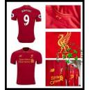 Camisas Futebol Liverpool Benteke 2016 2017 I Masculina