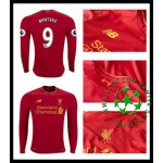 Camisas Du Futebol Liverpool Benteke Manga Longa 2016-2017 I Masculina