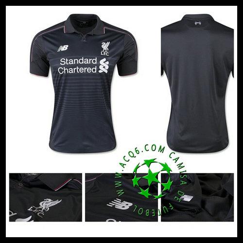 Camisas Du Futebol Liverpool 2015 2016 Iii Masculina - camisolas de ... 4e6204d42f194