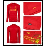 Do Local De Venda Camisa Futebol Manga Longa Liverpool Masculina 2016-2017 I Loja On-Line