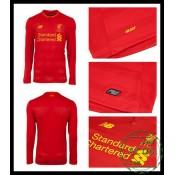 Do Local De Venda Camisa Futebol Manga Longa Liverpool Masculina 2016-2017 I Loja On-Line