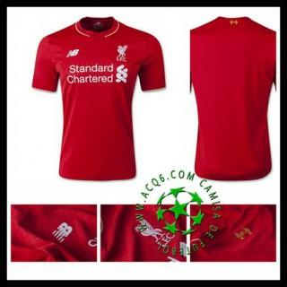 Camisas De Futebol Liverpool 2015/2016 I Masculina