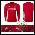 Camisa Futebol Liverpool Manga Longa 2015-2016 I Masculina