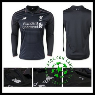 Camisas Futebol Liverpool Manga Longa 2015/2016 Iii Masculina