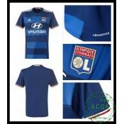 Criar Camisa De Futebol Olympique Lyonnaise Masculina 2016-2017 Ii On-Line