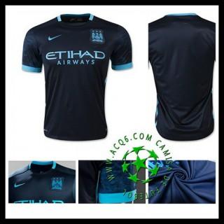Camisa Futebol Manchester City 2015/2016 Ii Masculina