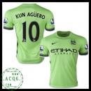 Ou Comprar De Camisas Du Futebol Kun Aguero Manchester City Masculina 2015/2016 Iii Mais Barato Online