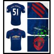 Camisa Futebol Manchester United Fosu Mensah 2016/2017 Ii Masculina
