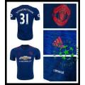 Camisas Futebol Manchester United Schweinsteiger 2016-2017 Ii Masculina