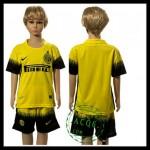 Inter Milão Camisas Futebol 2015 2016 Iii Infantil