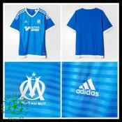 Uniforme Futebol Olympique De Marseille 2015 2016 Iii Masculina d9c04de5c2251
