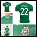 Camisa Futebol México P. Aguilar 2016-2017 I Masculina