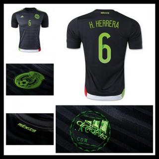 Camisas Futebol México (6 H.Herrera) 2015/2016 I Masculina