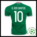 Comprar Camisas De Futebol G.Dos Santos México Masculina 2016-2017 I Mais Barato Online
