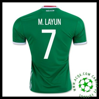 Ordem Camisas M.Layun México Masculina 2016 2017 I On-Line