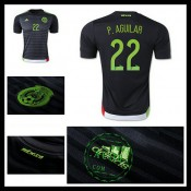 Camisa De Futebol México (22 P.Aguilar) 2015 2016 I Masculina