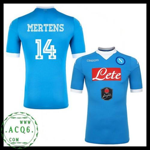 ded245beaaf71 Promo Camisas Futebol Mertens Napoli Masculina 2015 2016 I Loja On-Line
