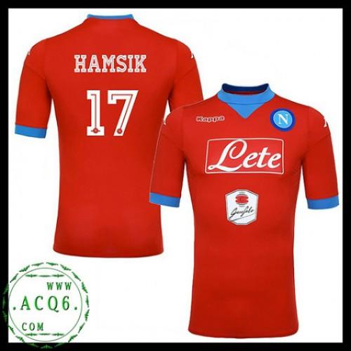 df6c51185122c De Comprar Camisa Futebol Hamsik Napoli Masculina 2015-2016 Iii Mais Barato  Online