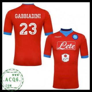 Promo Camisa Du Futebol Gabbiadini Napoli Masculina 2015 2016 Iii Loja On-Line